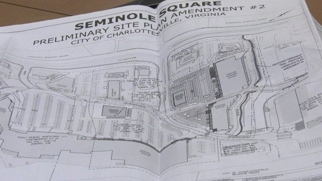 Possible plans for Seminole Square in Charlottesville