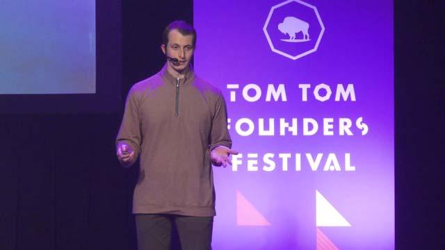 Entrepreneurs got three minutes each to present