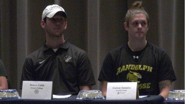 Shaun Cobb and Conner Dobbins will both play college lacrosse
