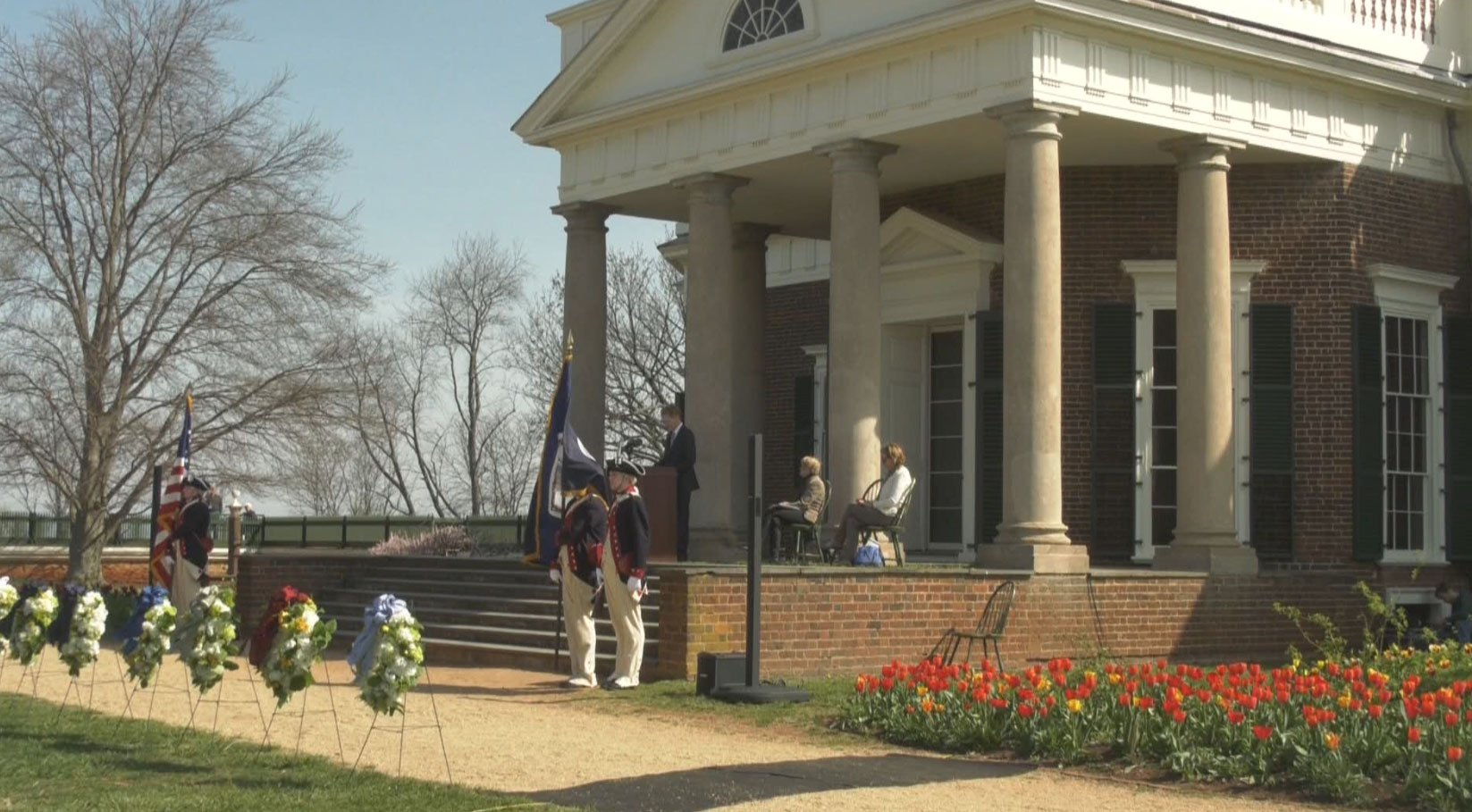 Ceremony at Monticello