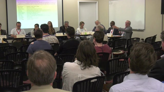 Developers discussed how to improve affordable housing on April 13