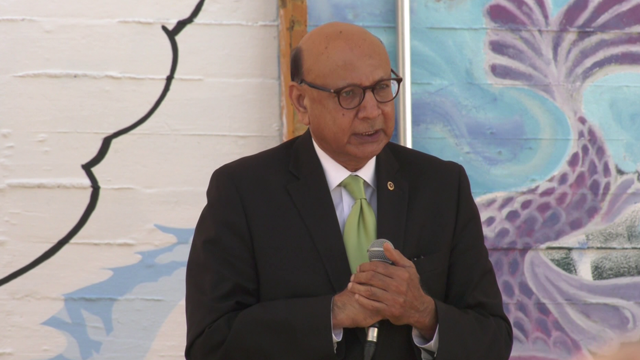 Khizr Khan discussed diversity and activism within the community.