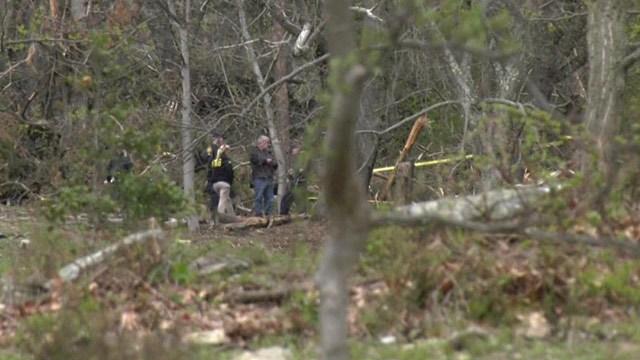 Investigators on the scene of a deadly plane crash in Albemarle County