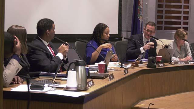 Charlottesville City Council on Monday, April 16