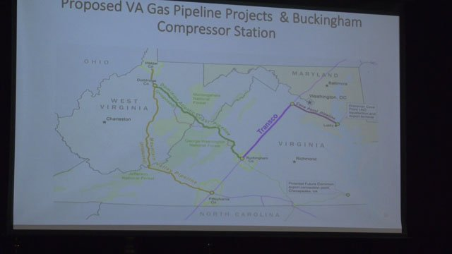 The proposed pipeline's path.