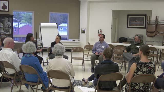 Neighborhoods across Charlottesville held open discussions on April 26