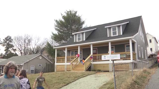 A Habitat for Humanity house (file photo)