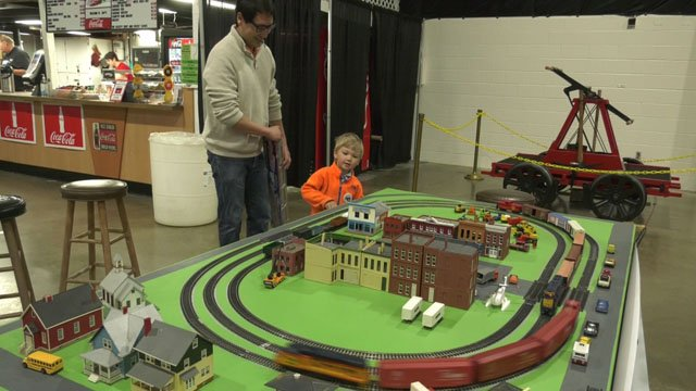 All proceeds will go towards operation costs for the Railroad Museum.