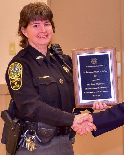 Albemarle Sheriff Chief Deputy Chan Bryant (Photo courtesy ACSO)