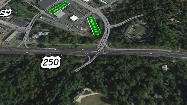 Hydraulic and Rt. 29 intersection