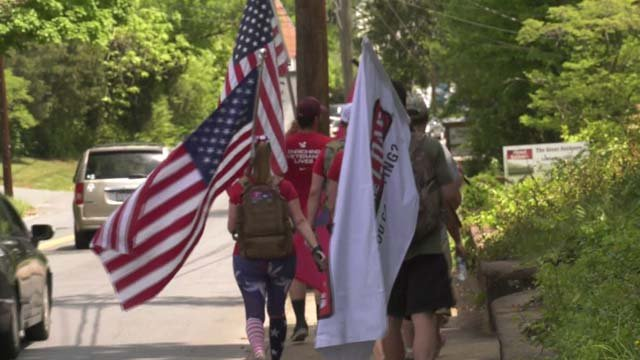 The group aims to raise awareness and money for those who serve their country