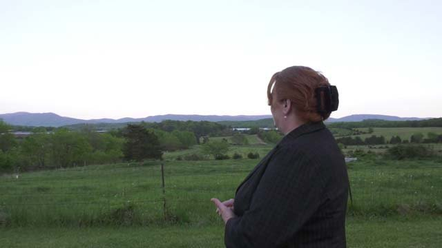 Kim Fontaine now enjoys life on her farm in Augusta County