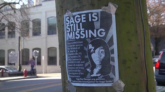 Sage Smith disappeared back in November 2012
