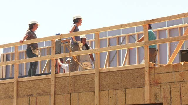 Women are taking charge at Habitat for Humanity sites across the country