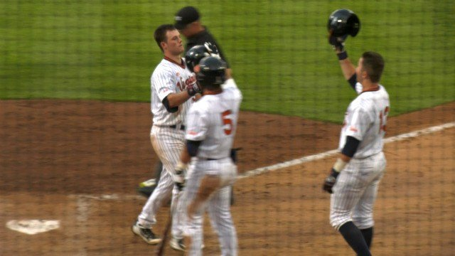 Cameron Comer hit his 4th home run of the season