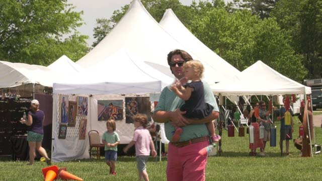 The festival raises money for the Claudius Crozet Park