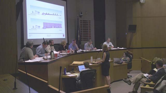 The Board of Architectural Review meeting on May 15