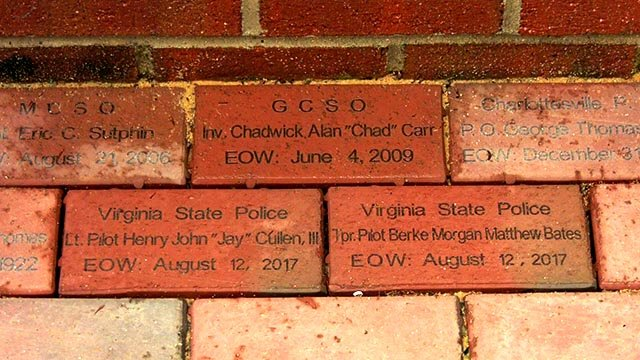 Bricks for Bates and Cullen added to the wall of honor