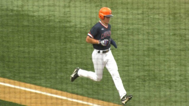 Junior Jake McCarthy went 4-for-6 with three RBI