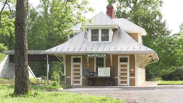 Montpelier train depot