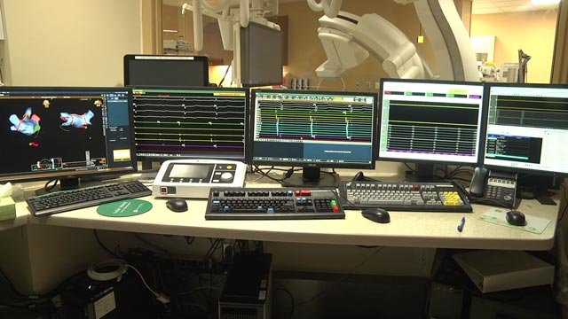 The new electrophysiology lab at Augusta Health