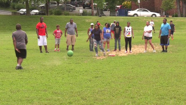 Love Thy Neighbor Community Kickball in Charlottesville