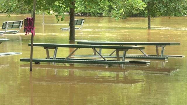 Riverview Park flooded (FILE IMAGE)