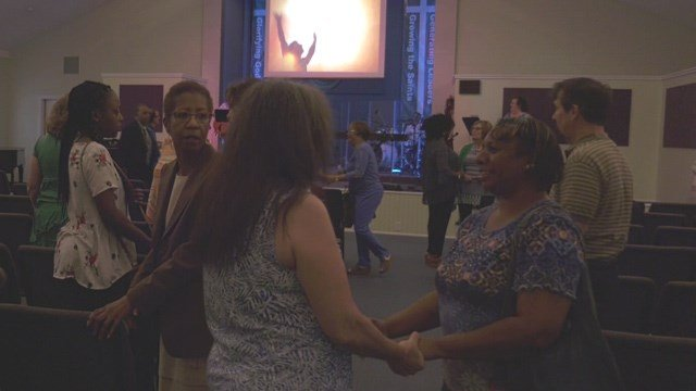 Community event at Connect Church in Charlottesville