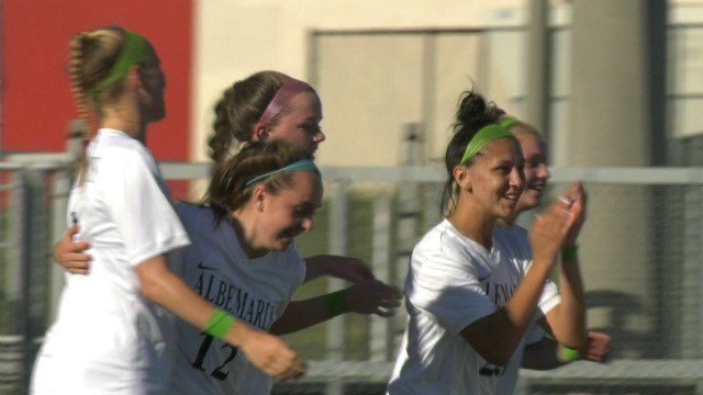 Fizzy Gonzalez scored two goals for the Patriots