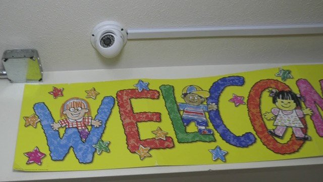 Security camera at a childcare facility in Greene County