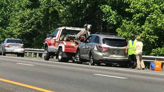 Multi-vehicle crash on I-64 in Albemarle County