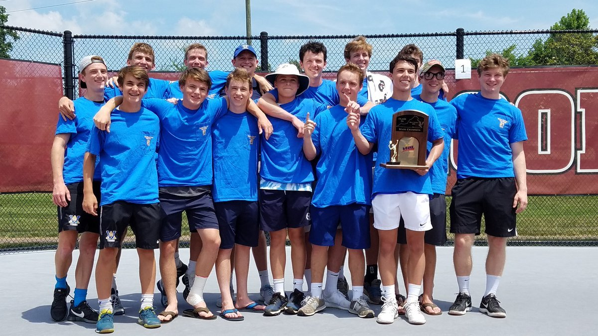 Western Albemarle tennis wins back-to-back state titles