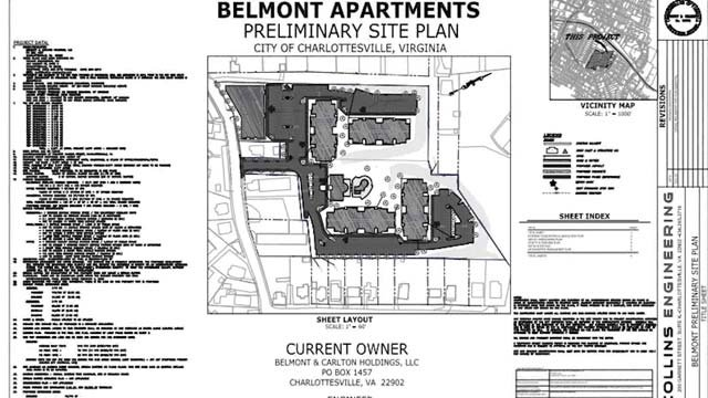 Plans for the proposed mixed-use complex