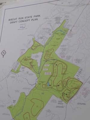 Map of Biscuit Run