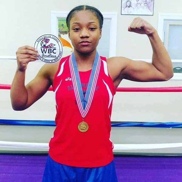 Low is the first female Golden Gloves winner in the history of Charlottesville boxing