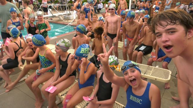 The Jefferson Swim League began its 52nd season on Wednesday