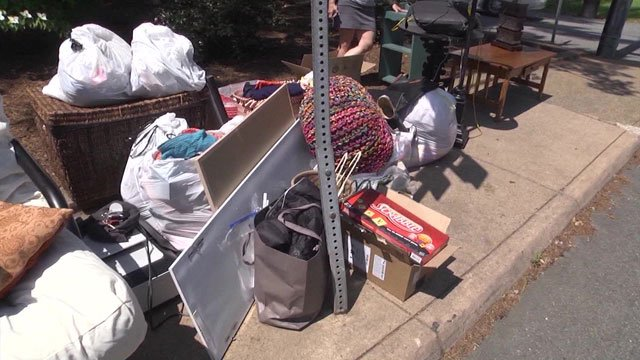 Items donated by UVA students