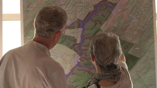 People got the chance to learn about the area's history