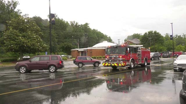 Crews responded to a power outage on June 20