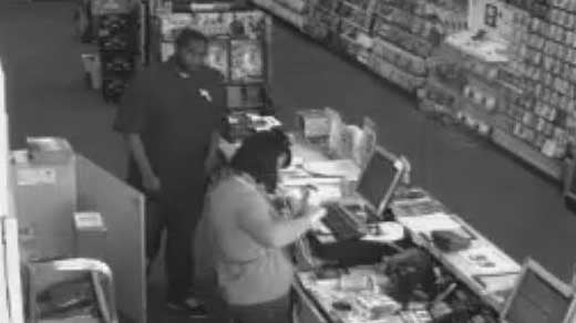 Photo from GameStop surveillance video.