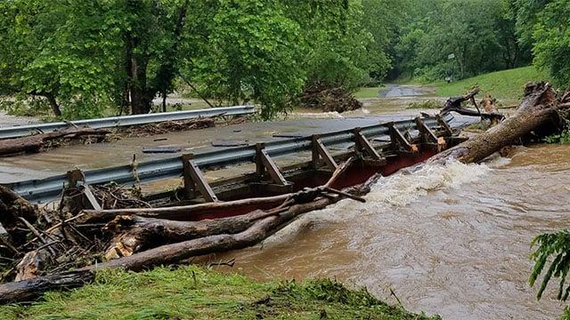Flooding photo courtesy of VDOT