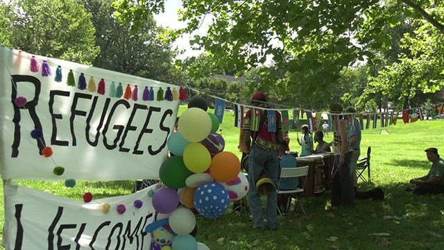 IRC anniversary picnic in Washington Park