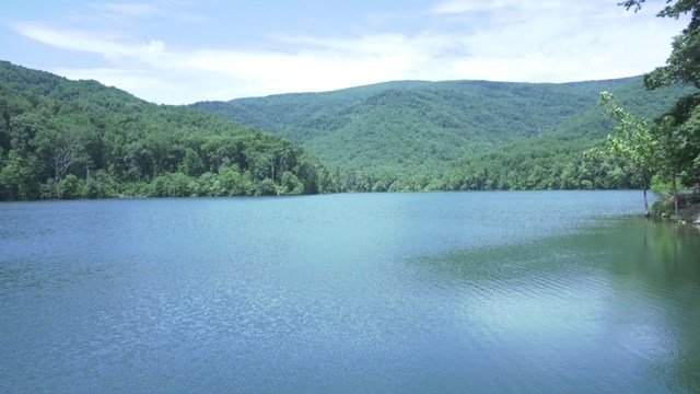 Sugar Hollow Reservoir in Albemarle County