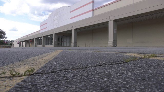 The lot where Kmart used to be