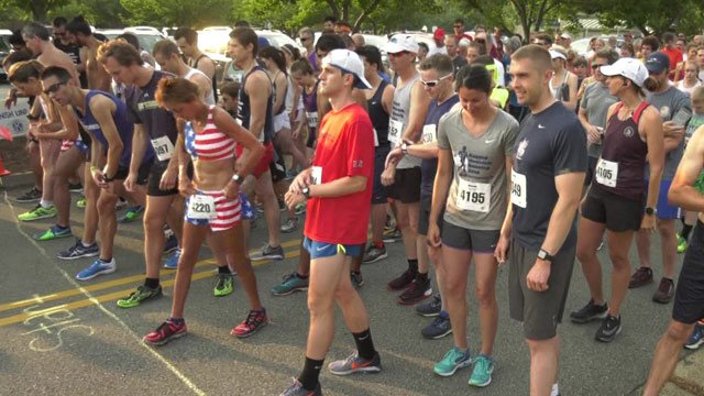 240 people ready to race in the Independence Day 5K.
