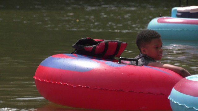 Tubing on the Rivanna River