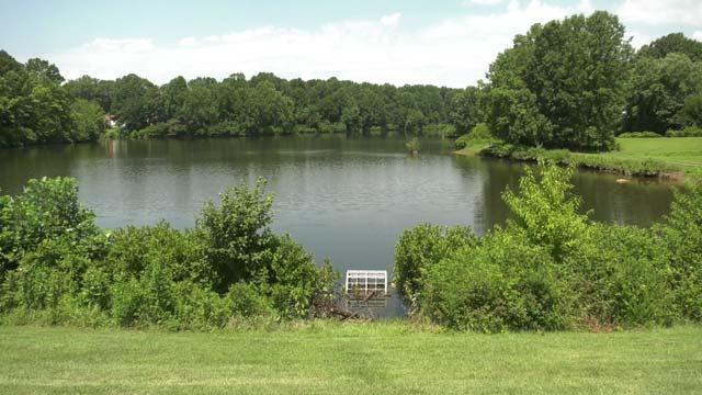 Hollymead Dam in Albemarle County