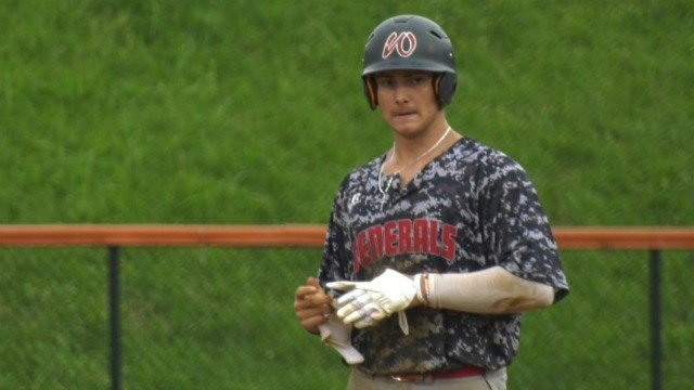Brett Teodosio went 2-for-3 with a home run and two RBI for Waynesboro