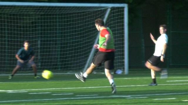 McCartney played soccer at Virginia Tech