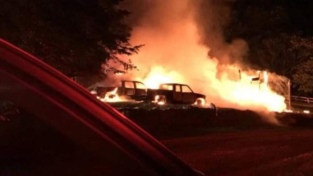 Photo courtesy AFCR Fire Marshal Shawn Maddox
